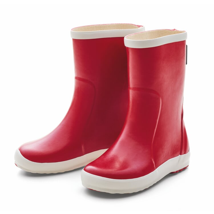 Children's Boots Natural Rubber and Synthetic Rubber Red