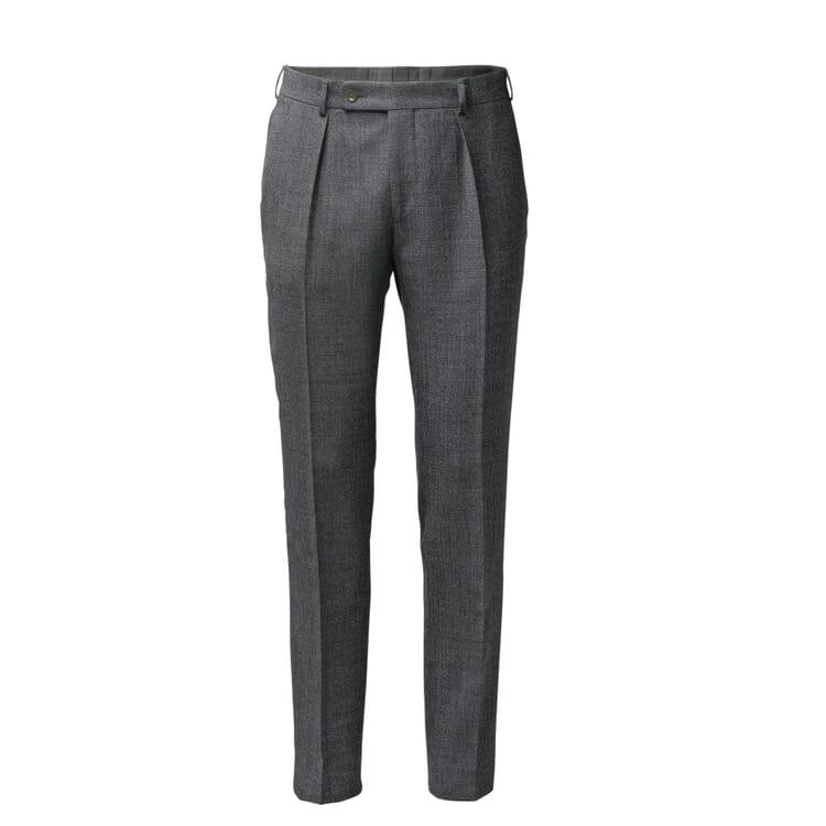 Scabal Men's Virgin Wool Trousers