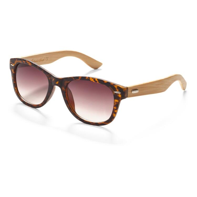 Sonnenbrille mit Bambusbügel