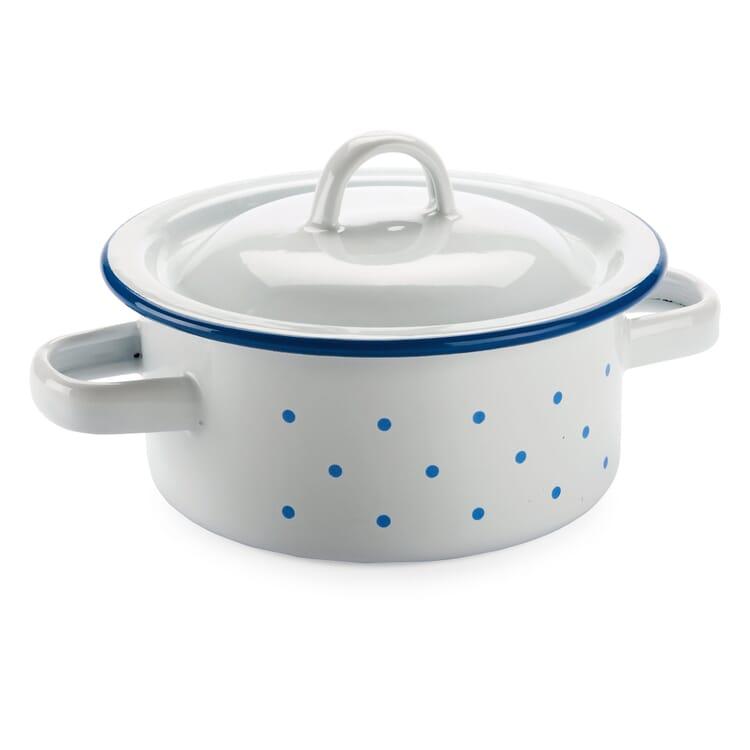 Small Enamel Cooking Pot Ø 12 cm