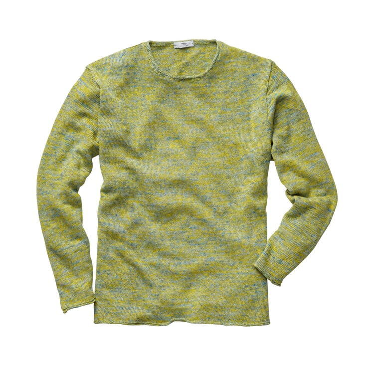 Inis Meáin Linen Shirt Green-yellow