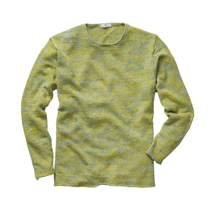 Inis Meáin Linen Shirt, Green-yellow