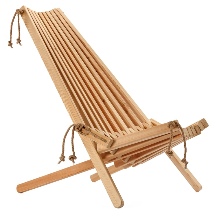 Larch Wood Folding Chair