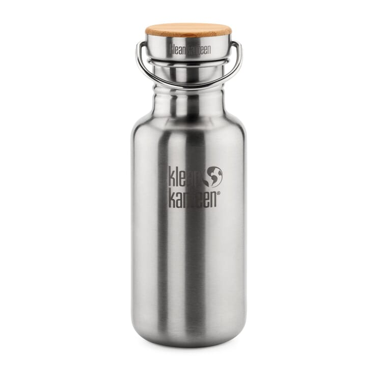 Drinking Bottle Made of Stainless Steel by Klean Kanteen®, Volume 18 oz (= 532 ml)