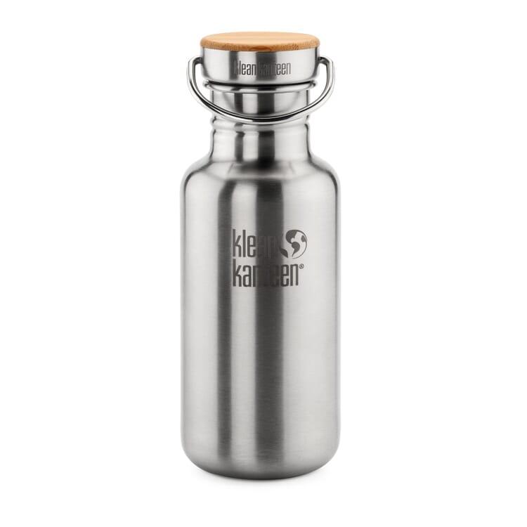 Klean Kanteen® Trinkflasche Edelstahl matt, 532 ml