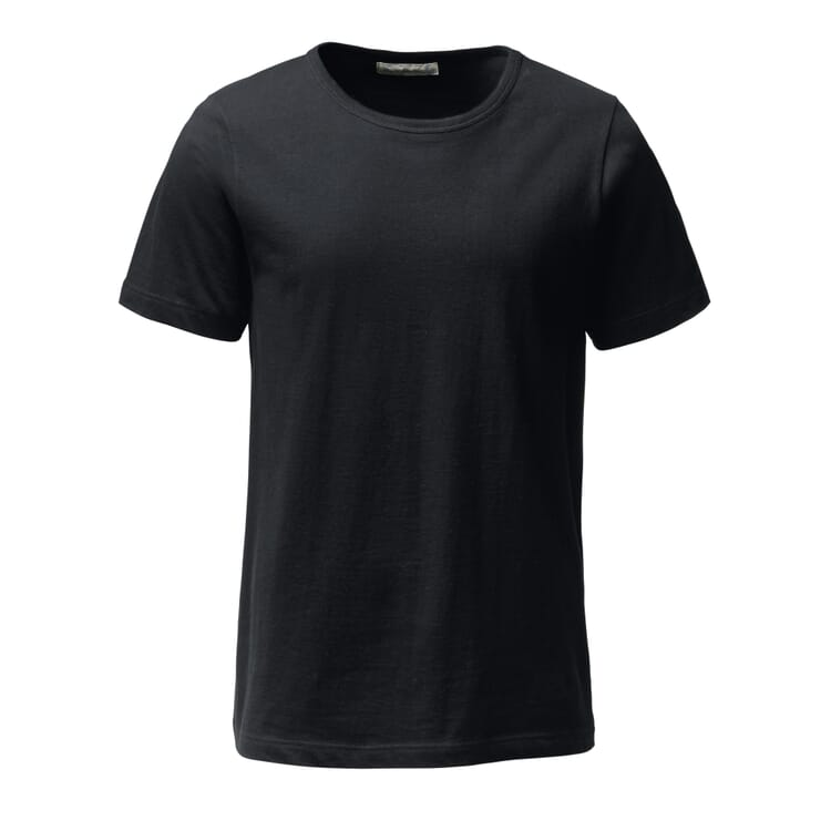 Merz b. Schwanen T-Shirt 1950, Schwarz