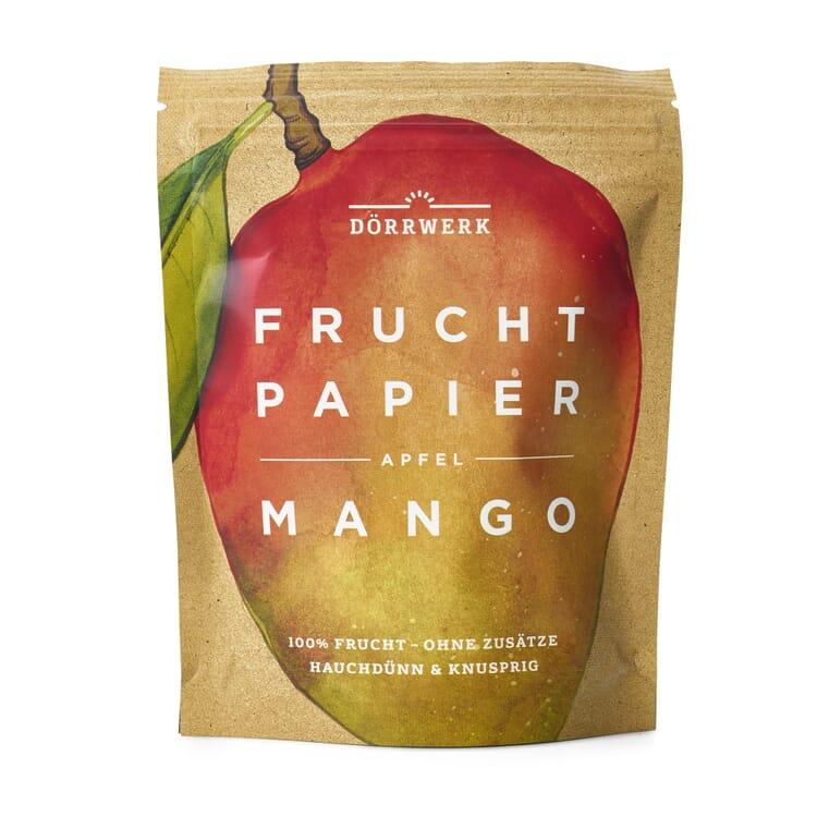Dörrwerk Fruchtpapier Mango-Apfel
