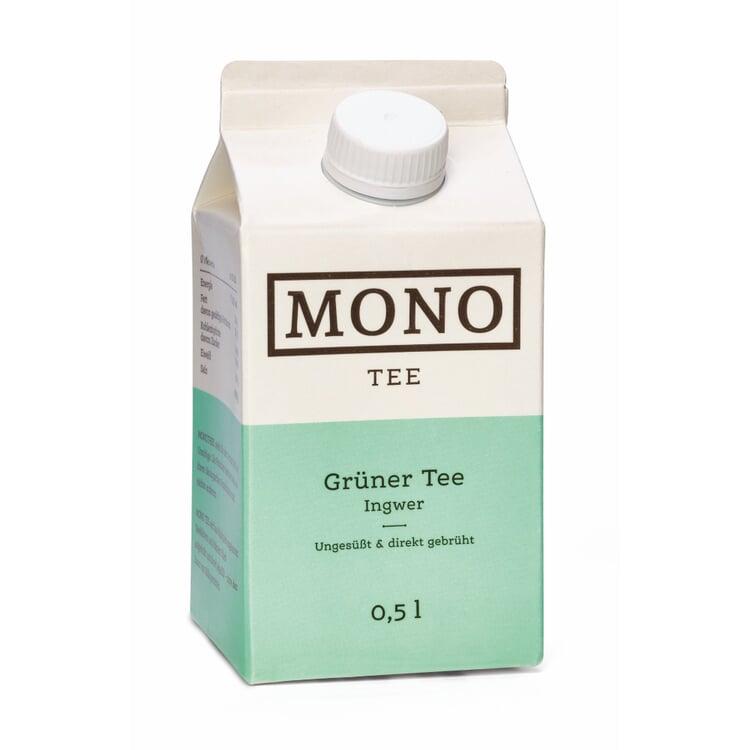 Bio-Monotee Grüner Tee mit Ingwer