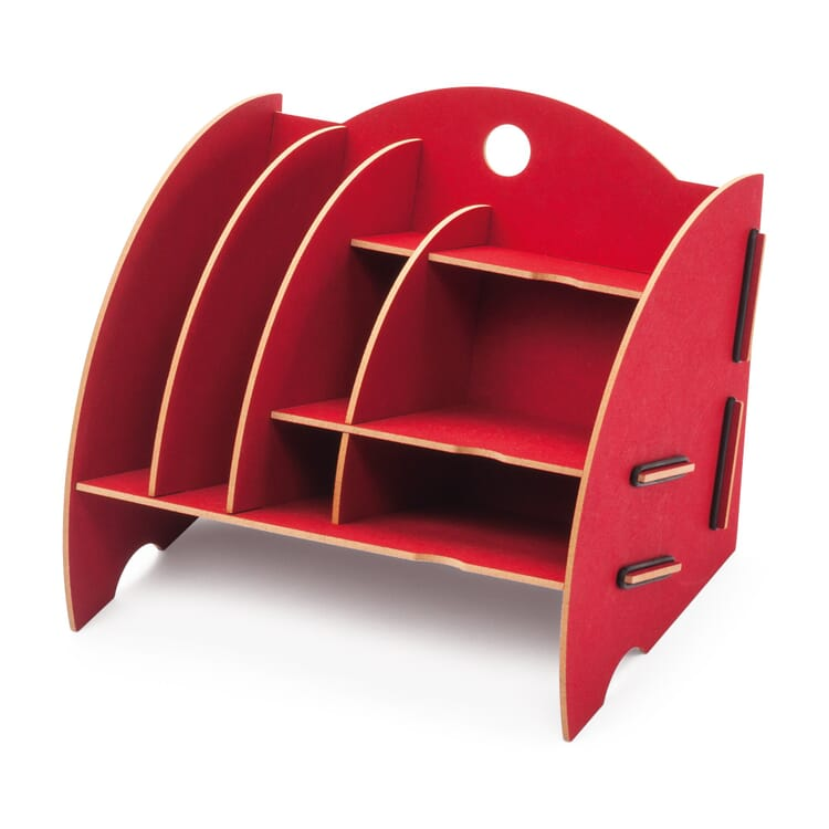 Werkhaus Organisator klein, Rot