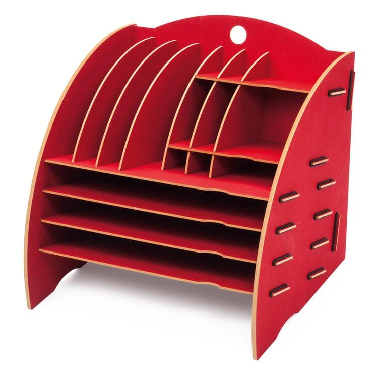 Werkhaus Organisator groß, Rot