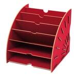Werkhaus Papiersammler Rot