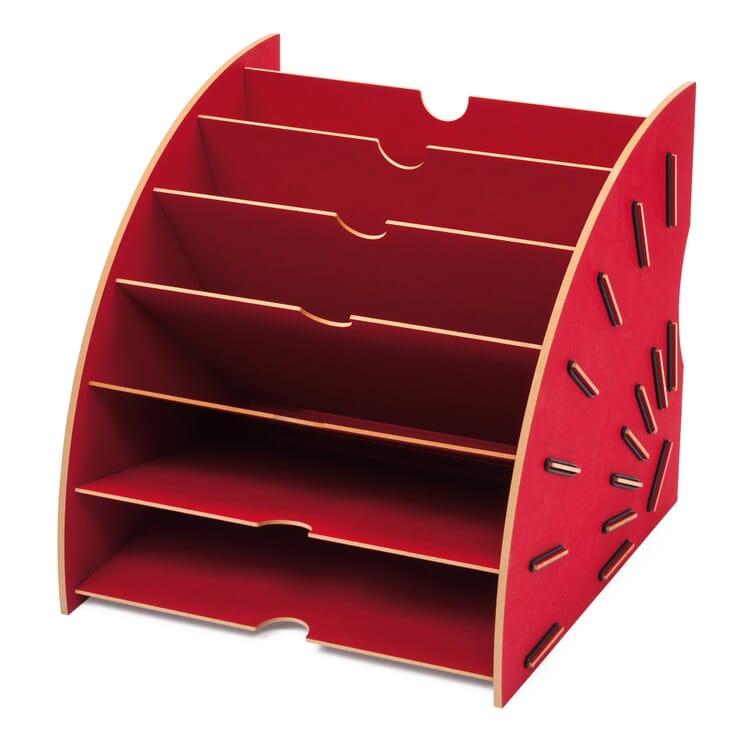 Werkhaus Papiersammler, Rot