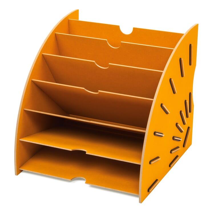 Werkhaus Papiersammler, Gelb