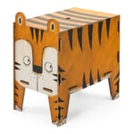 Chest and Stool Tiger
