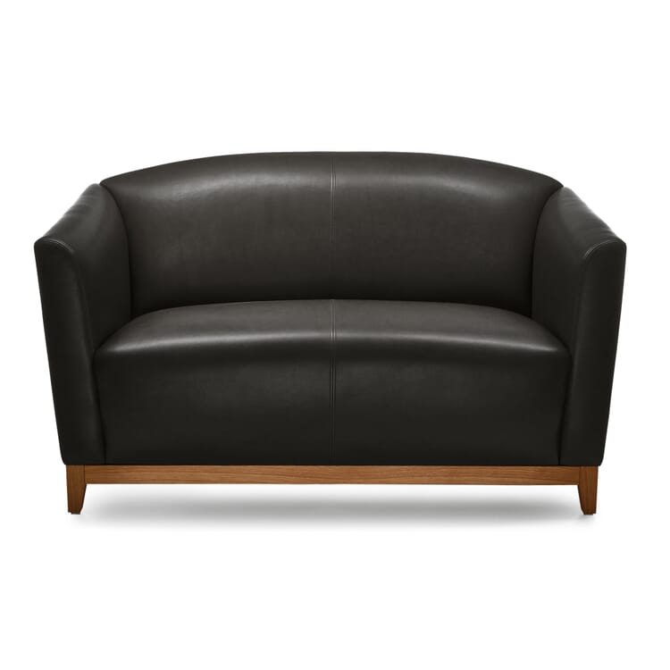 Manufactum Sofa 1,5-Sitzer, Schwarz