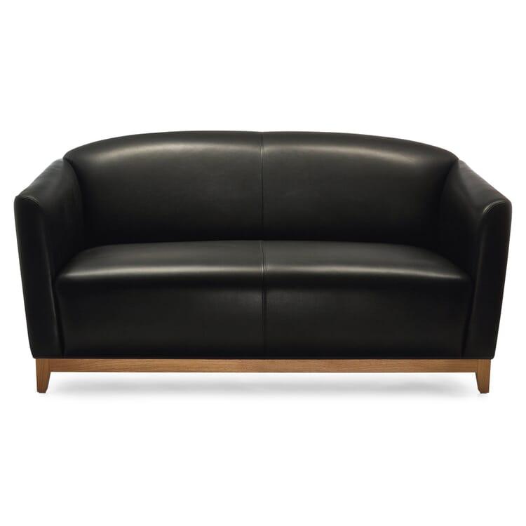 Manufactum Sofa 2-Sitzer, Schwarz
