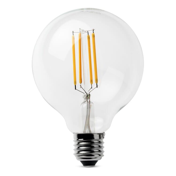 LED-Filament-Globelampe 95 mm E27, E27 4,5 W