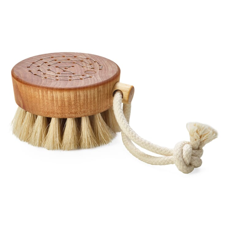 Bath Brush with Horsehair Bristles, Small