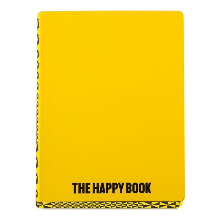 Notizbuch The Happy Book