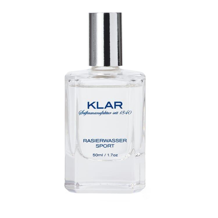 Klar Aftershave, Sport