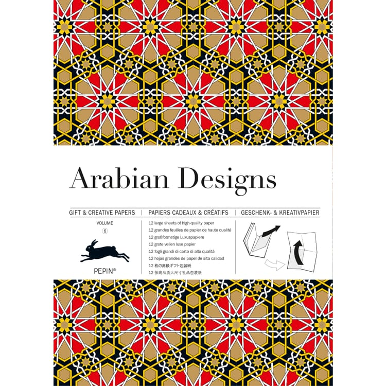 Geschenkpapier Pepin, Arabian Designs