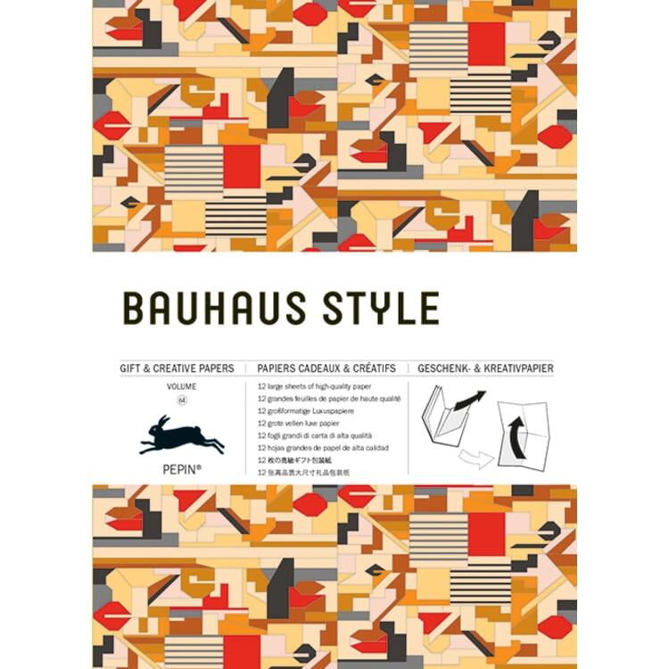 Geschenkpapier Pepin, Bauhaus Style
