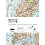 Wrapping Paper Pepin Maps