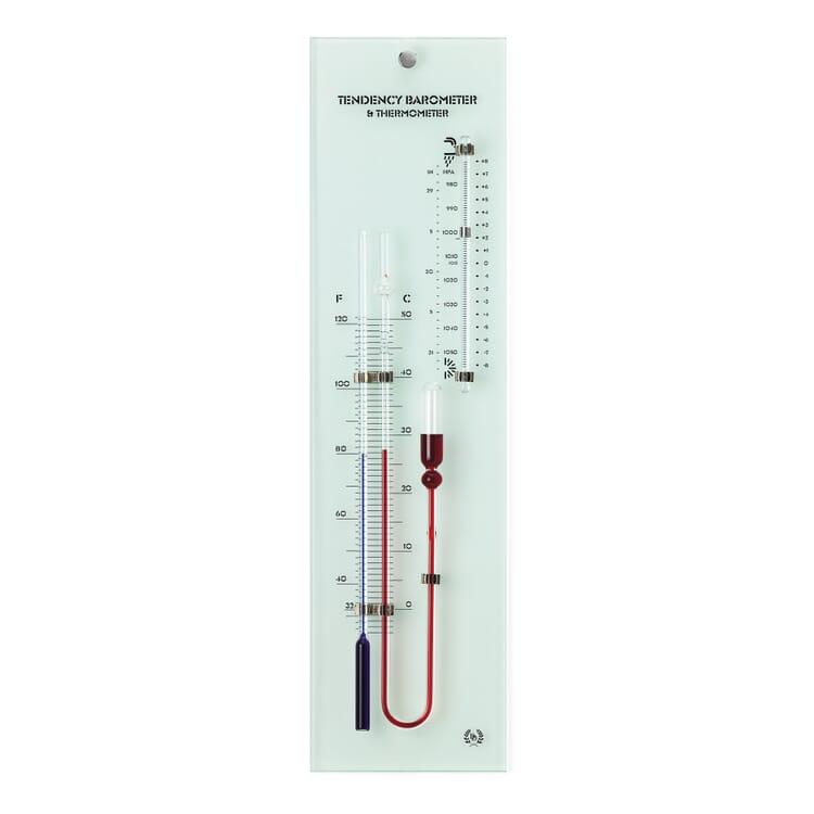 Kapillar-Barometer Glas