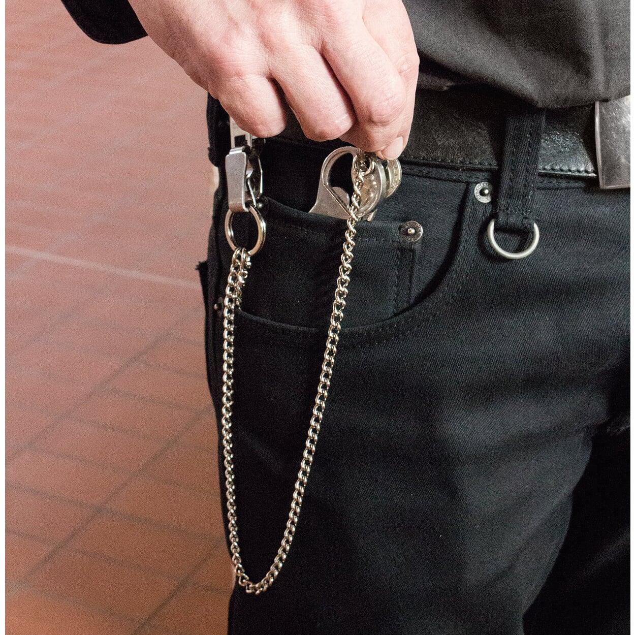Zweifach-Schlüsselkette mit Gürtelclip