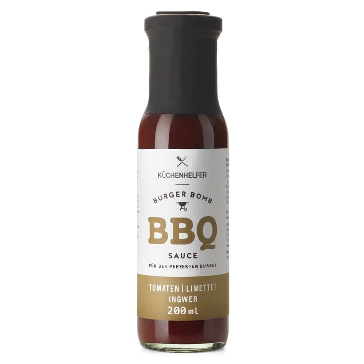 BBQ-Sauce Tomaten Limette Ingwer