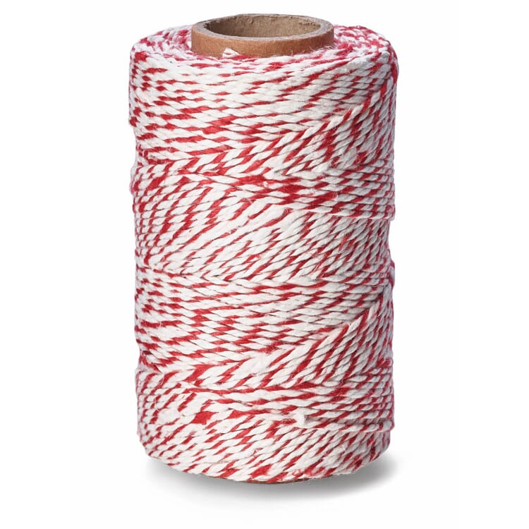 Manufactum Household Twine, Red/White