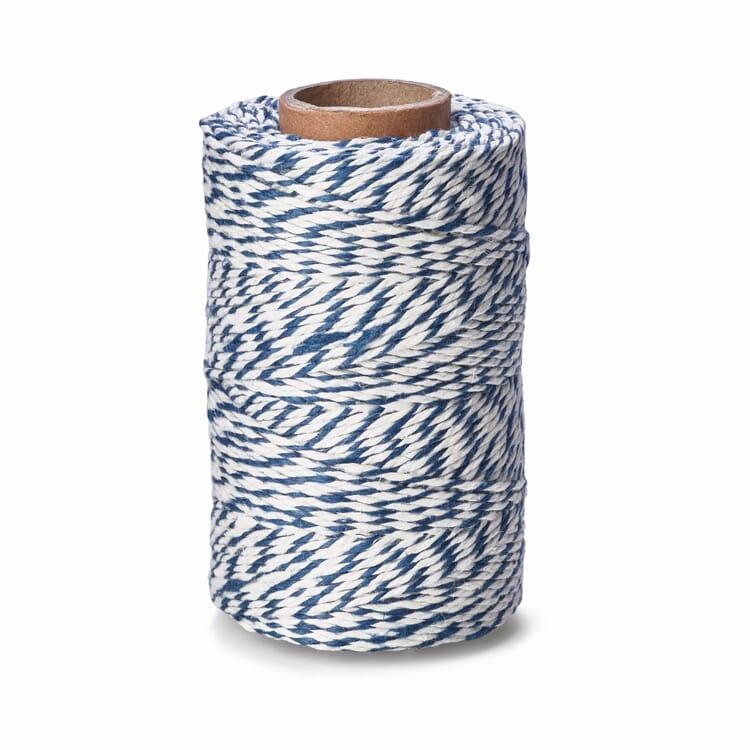 Manufactum Haushaltsgarn, Blau/Weiß
