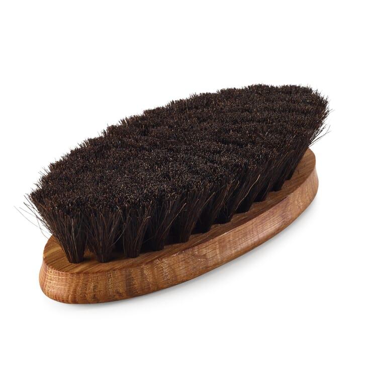 Horsehair Shoe Shine Brush, Dark