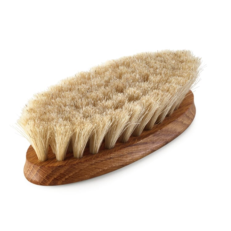 Horsehair Shoe Shine Brush, Light