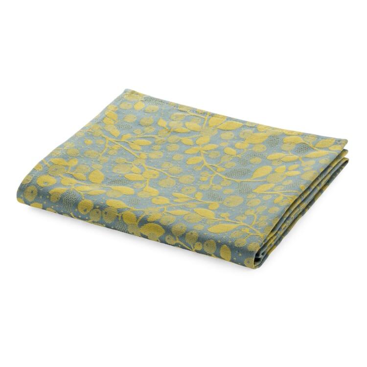 Tischläufer Mini Labo, Blau-Gelb