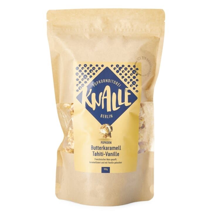 Knalle Popcorn Butterkaramell Tahiti-Vanille