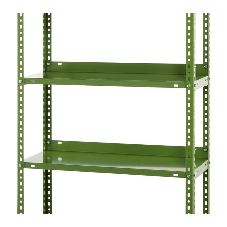 "Supplement Shelves for Rack ""Industry"", Reseda Green RAL 6011"