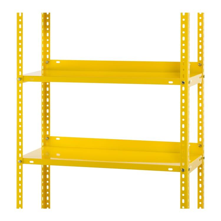 "Supplement Shelves for Rack ""Industry"", Zinc Yellow RAL 1018"