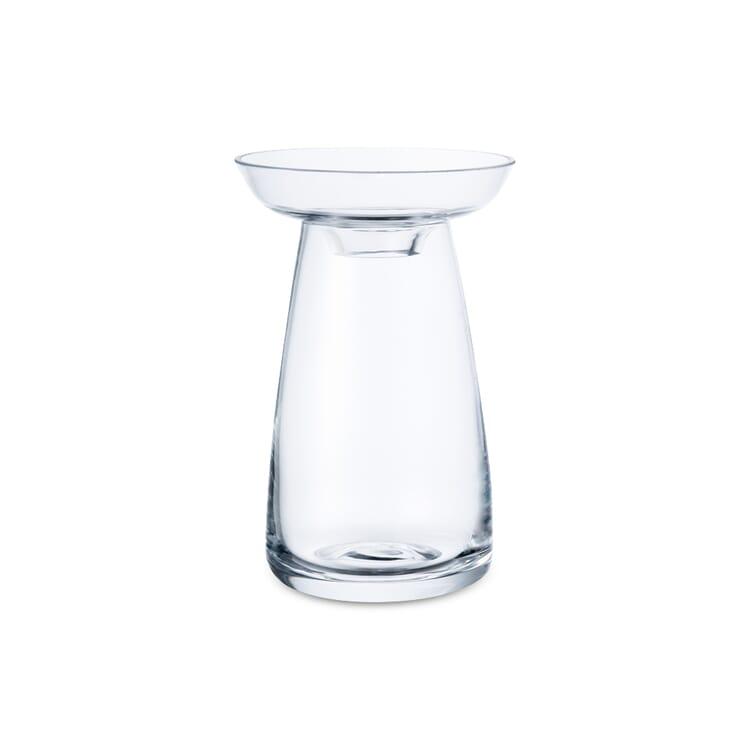 Vase Aqua, Small, Clear Glass