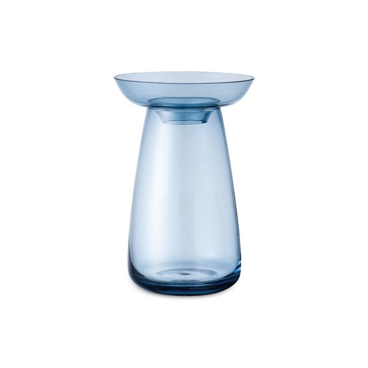 Vase Aqua, klein Blau