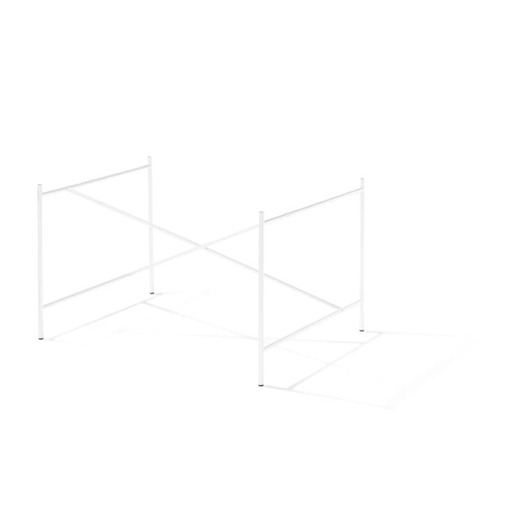 Base Frame for Tabletops Eiermann 1, Pure White RAL 9010