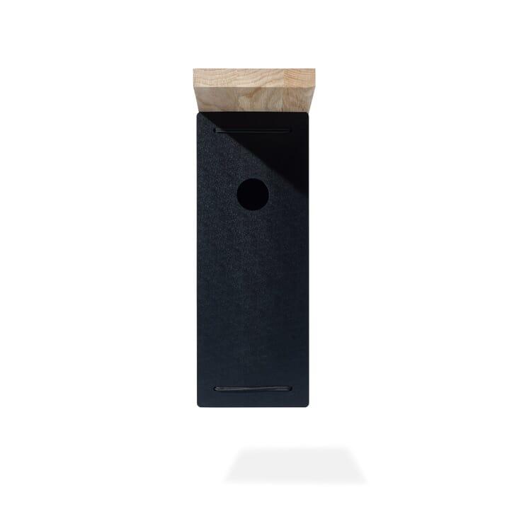 """Nesting Box """"Bird BNB"""", Black"""
