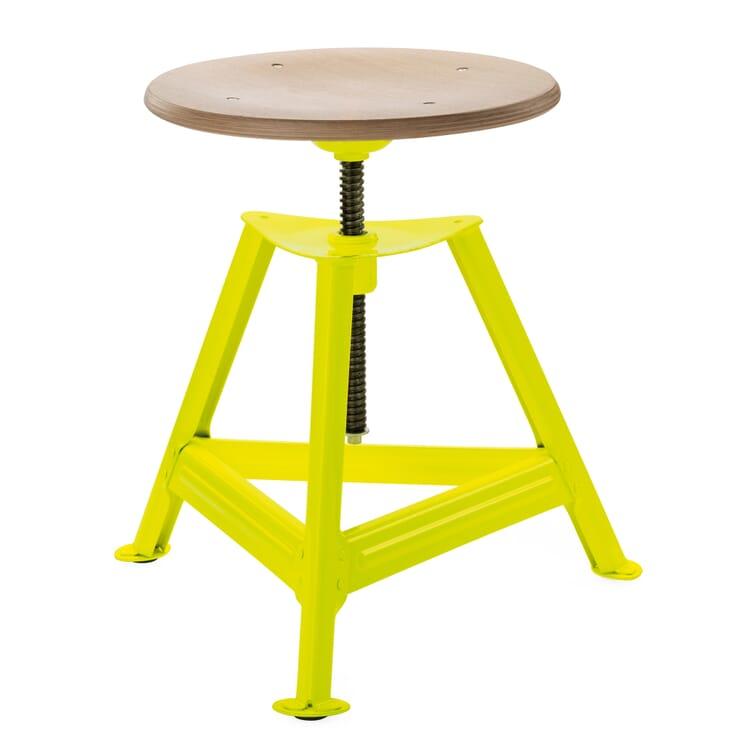 Chemnitz Stool Height-Adjustable, Luminous Yellow