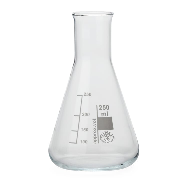 "Glass Bottle ""Cone"", 250 ml"