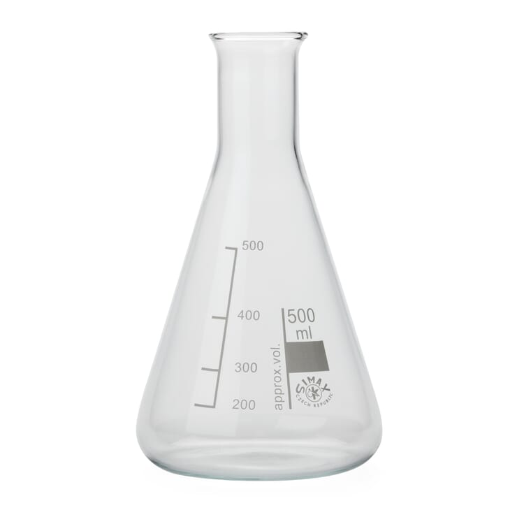 Glasflasche Konus, 500 ml