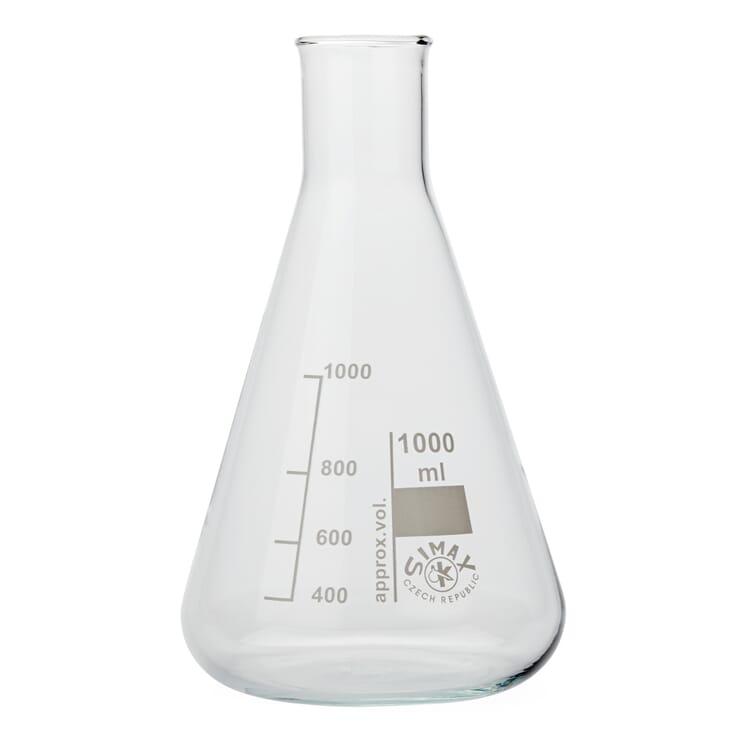 "Glass Bottle ""Cone"", 1000 ml"