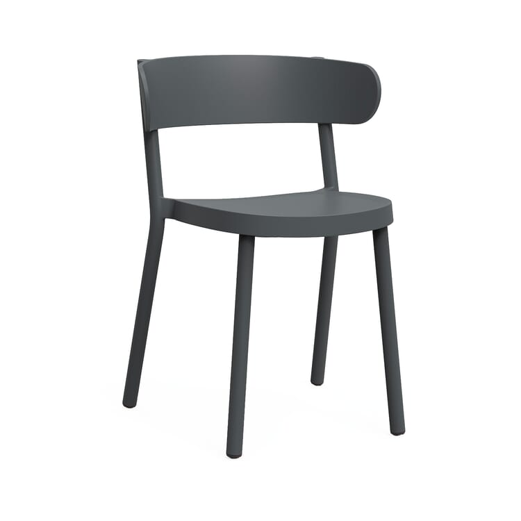 "Chair ""Casino Chair"", Dark Grey"