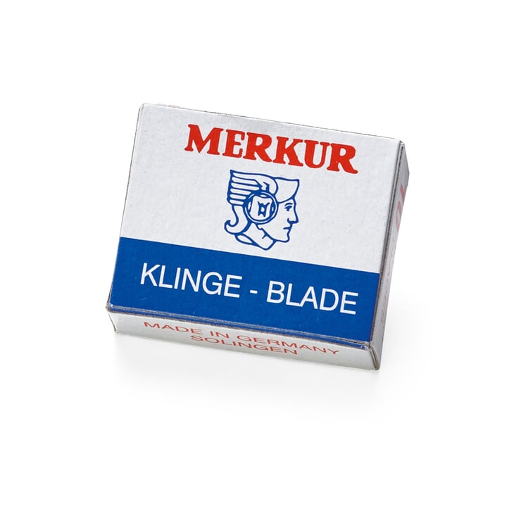 Replacement Blades Trapezoid Shape by Merkur