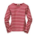 Armor lux Women's Knitted Sweater Red and ecru