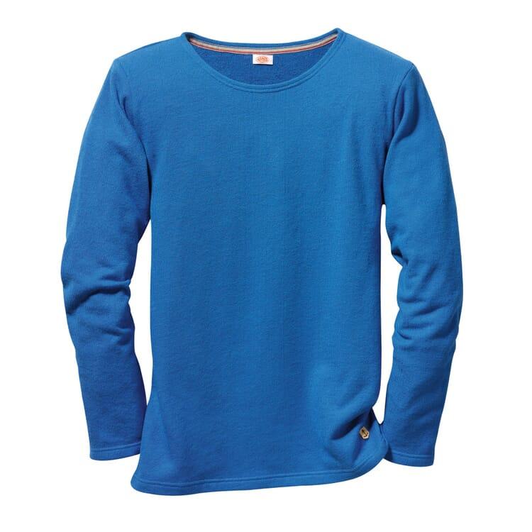 Armor lux Terry Cloth Shirt, Azure Blue